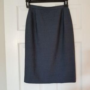 Tahari for Bloomingdales wool blend skirt, 4